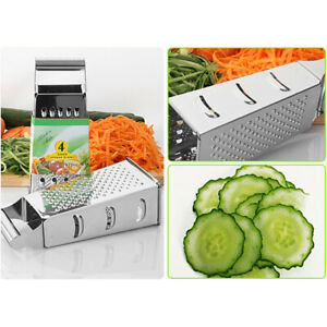 Vegetable Slicer Dicer Food Chopper Cuber Cutter Box Cheese Grater Multi Blad