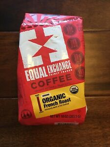 Equal Exchange Coffee - French Roast Organic Drip Dark Full Bodied 10 oz. Ground