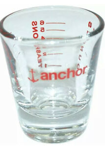 ANCHOR HOCKING 1 OZ MEASURING SHOT GLASS CUP