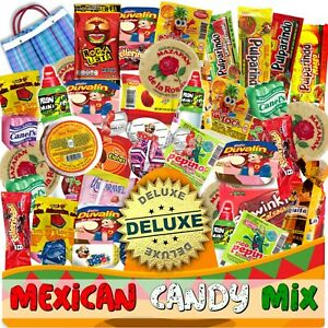 Mexican Candy Mix (82 Count) Variety Of SPICY and SWEET Bulk Dulce Mexicano