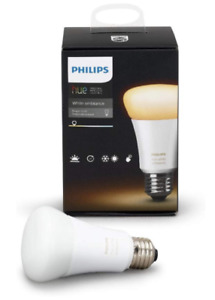 Philips Hue White Ambiance Single A19 LED Smart Bulb Brand New