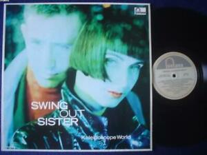 SWING OUT SISTER lp KALEIDOSCOPE WORLD argentina ID# 36080 FONTANA 29189 NM NM a