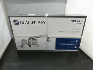 Glacier Bay Laundry Faucet 780 445 Chrome - NEW