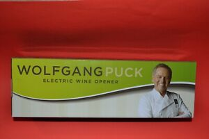 Wolfgang Puck Electric Wine Opener New