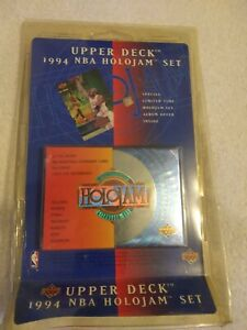 1994 Upper Deck NBA Basketball Holojam Lithogram Factory Sealed Set