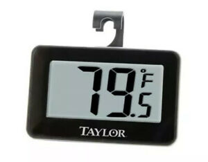 Taylor Precision Products Digital Refrigerator/Freezer Thermometer, New