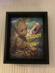 Marvel Guardians Of The Galaxy Vol. 2  3-D GET YOUR GROOT ON! Frame