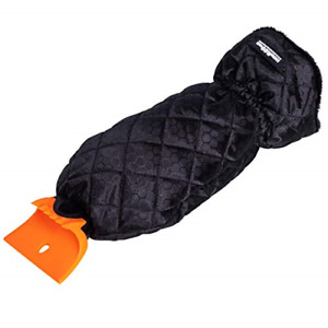 Snow Moover Ice Scraper Mitt for Car Windshield Heavy Duty Warm