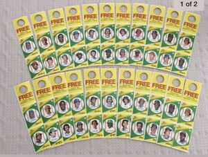 1981 & 1982 Topps Squirt 2 Complete sets Total of 33 panels = 66 cards MINT