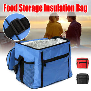 Insulated Lunch Box Soft Cooler Bag Waterproof Thermal Work School Picnic  C