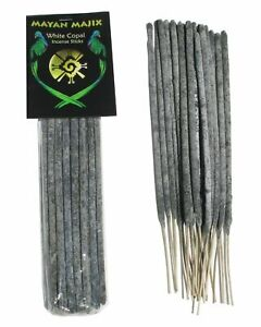 White Copal Incense Sticks from Mexico Highest Quality Resin 20 Sticks