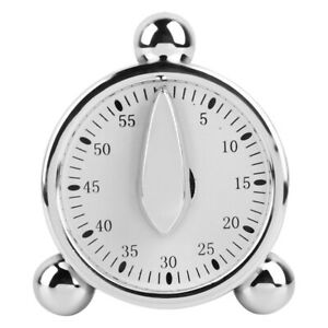 Round 60-Minute Mechanical Timer Reminder Counting for Kitchen Cooking NEW