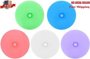Silicone Fermenting Lids 5 Pack BPA Free Waterless Airlock Mold Free Auto Vent $8.59