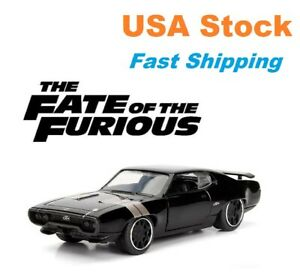 Fast And Furious, Dom's Plymouth GTX, F8, JADA, Diecast Toy Car, 5.25, 1:32