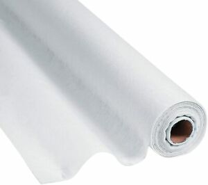 Fun Express White Gossamer Roll 100 FT x 3 FT-Prom & Wedding Decor-Party 1 Roll