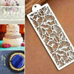 Silicone Lace Mold Mould Sugar Craft Fondant Mat Cake Decor Too Baking C1F8 X4P7