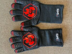 Mr. Smith BBQ /Smoker Gloves.  Protect up to 1472 ºF, Great for Kitchen use also