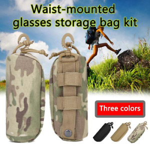 Portable Sunglasses Protector Box Camo Pouch Tactical Goggle Glasses Bag Pack US