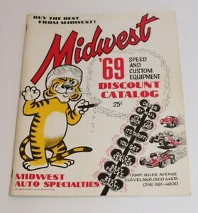 Midwest Auto Specialties 1969 Discount Catalog Speed and Custom Equipment