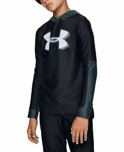 New Under Armour Big Boys Tech Logo Hoodie Choose Size MSRP $35.00 $24.99