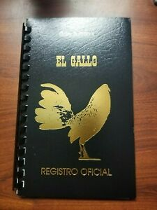 Registration Registro for Gallos poultry chicken duck goose turkey