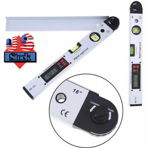 400mm Digital Goniometer Precise Protractor Electronic Angle Finder Gauge Tool $32.99