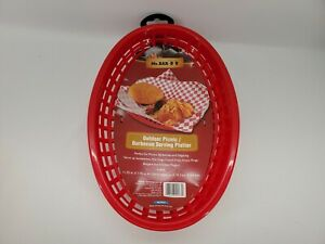 BBQ Accessories Outdoor Picnic/Barbecue Serving Platter 4 Pack