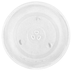 12.5'' Microwave Glass Plate Turntable Replacement for 3 Part Bushing Couplers