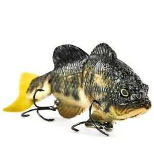 MATTLURES Strong Bass Slow Sinking Jointed Swimbait 7.75