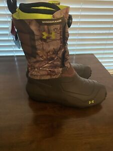 Under Armour Ridge Reaper Pac Mens Size 12  Hunting Boots 1200 Grams 1261932-946