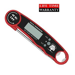 Professional Digital Meat Thermometer for Cooking, Grill, BBQ, Smoker, Candy etc