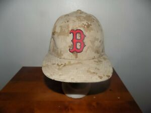 New Era Boston Red Sox 59Fifty Camo Hat 7 38 Digital Camouflage MLB FITTED