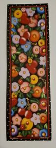 Mary Engelbreit bookmark fried egg design hearts and cherries