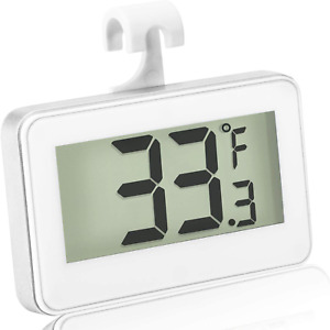 Refrigerator Thermometer Digital Freezer Thermometer Room Fridge Thermometer Lcd
