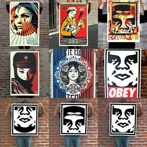Shepard Fairey Obey Giant Orignal Poster Art Lithograph Signed Edition Print NEW $24.99