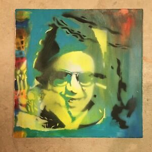 "12"" X 12"" Puerto Rico Salsa Legend Hector Lavoe Original Painting on Canvas $85.00"
