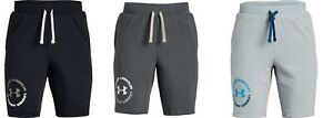 New Under Armour Big Boys Rival French Terry Shorts Choose Size $16.99