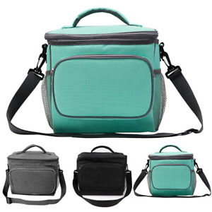 Insulated Lunch Bag Leakproof Thermal Bento Cooler Food Tote Box Women Men Kids