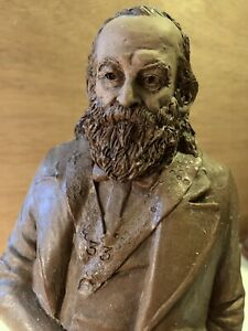 ALBERT PIKE RARE STAINED VERSION 1996. Masonic Statue, Tom Clark,Cairn Studios