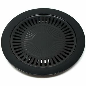 Portable Indoor Barbecue BBQ Grill Pan Smokeless Stove top 12.5