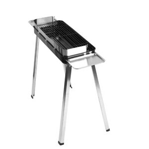 Portable Grill BBQ Outdoor Barbecue Foldable Folding Charcoal Camping BBQ Shelf