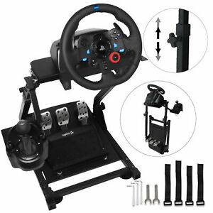 Racing Simulator Steering Wheel Stand For Logitech G920 PS4 Thrustmaster T500RS $66.50