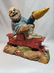 Tom Clark Gnomes Cairn Railroad Series Harry #72 Signed Harry S. Truman