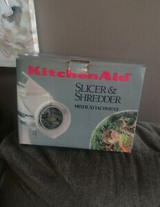 KitchenAid Slicer & Shredder Attachment for Stand Mixer new old stock age wear