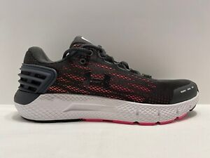 Under Armour UA Charged Rogue 2 Running Shoes Sneakers Size 8 Black Pink Womens $39.99