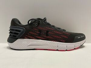 Under Armour UA Charged Rogue Running Shoes Sneakers Size 9.5 Black Pink Womens $39.99