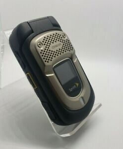 Kyocera DuraXT Black Sprint Cellular Flip Phone