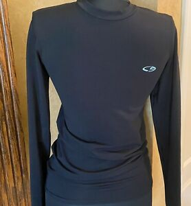 C9 Champion Boys Shirt Duo Dry Compression Fitted Black Size L $3.99