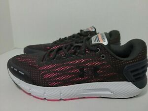 Under Armour Charged Rogue Womens Size 9 Running Shoe Black, Pink 3021247 105 $44.99