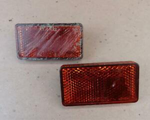 2008 2016 HONDA SHADOW AERO 750 VT750 Rear Side Reflectors